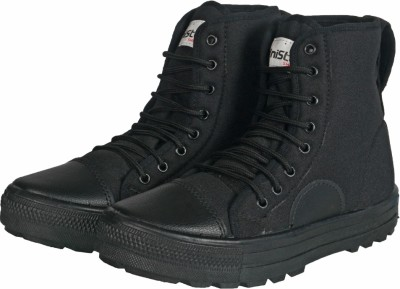 Unistar High Ankle Jungle Boots(Black)
