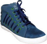 Valenki Canvas Shoes (Blue)