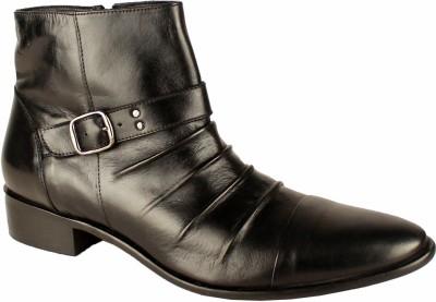 Salt N Pepper 14-324 Senator Black Ankle Boots