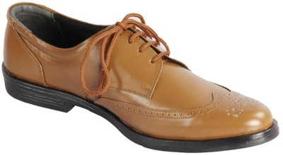 HIDEKRAFT Hidekraft Genuine Leather Brogues Lace Up