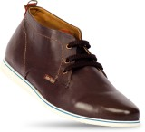 John West Oxford Casual Shoes (Brown)