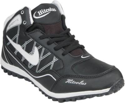 Hitcolus Black & White Running Shoes