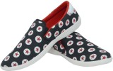 Trendy Power Casuals (Black, Red)