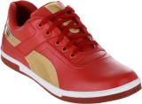 Firx Casuals (Red, Gold)