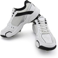 Vector X Prospeed Full Spike Cricket Shoes(White)