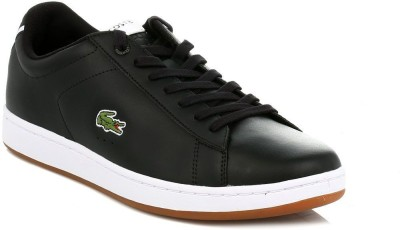Lacoste Mens Black Carnaby Evo Croc Trainers Casual Shoes