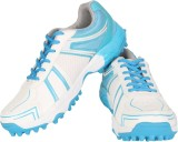 Vector X Cricket Shoes (White, Black)