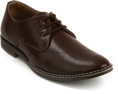 Bacca Bucci Maroon Party Wear Shoes