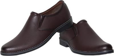 Azzaro Black Ducas Slip On Shoes