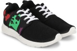 Stag Face Sneakers (Black, Grey)