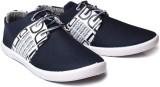 Cox Swain Bgdd-Blue Canvas Shoes (Blue)