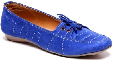 Volley W-08-Blue Boat Shoes