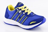 Provogue Running Shoes (Blue, Yellow)