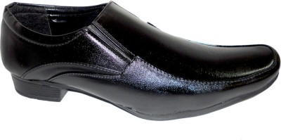 ACTIVA Black Party Slip On Shoes