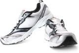 Nivia Snake Jogging Shoes (White, Silver...
