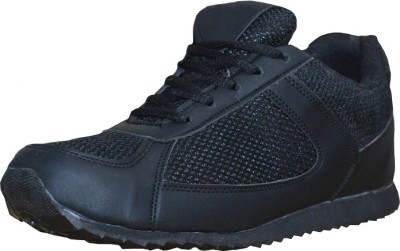 Port Black School Shoes