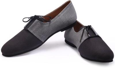 FUNK Qan Black with Grey Sneakers