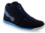 Menzo Sneakers (Black, Blue)
