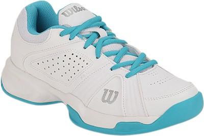 Wilson Rush Swing Tennis Shoes(White)