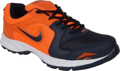 Stepin Soles Galaxy-2 Orange/Blue Running Shoes