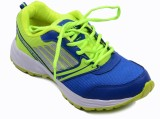 Rock Vision Running Shoes (Blue, Green)