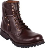 Rockins Mid Length Boots (Brown)