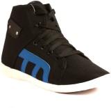 Gasser Crazyblkblue Canvas Shoes (Black,...
