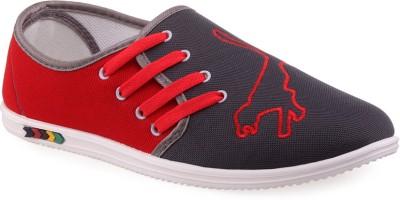 Wepro Red Grey Sneakers