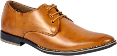 Footlodge Simple and Good Looking Corporate Casuals(Brown)