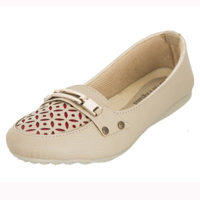 Advin England Cream Casual Shoes Bellies