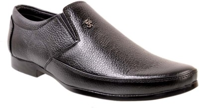 Tiger Wood Trendy Leather Slip On Shoes