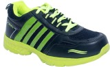 Corpus Ford-Black-P.Green Running Shoes ...