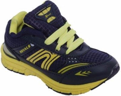 Xpert Zoom3 Blue Yellow Running Shoes