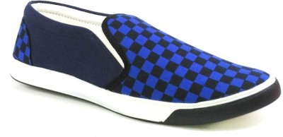 Blue-Tuff Canvas Shoes