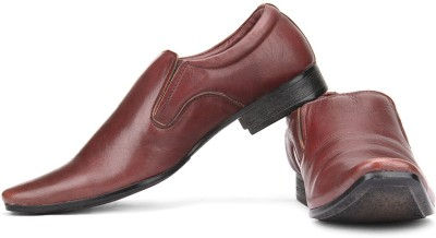 Provogue Genuine Leather Slip On Shoes