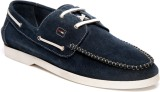 Pelle Originale With Lace Boat Shoes (Na...