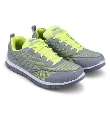 Slazenger Eros Running Shoes(Grey) at flipkart