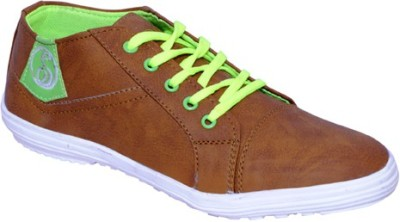 Smoky Tan Canvas Casual Shoes