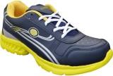 Adreno Sports 9 Running Shoes (Black, Ye...