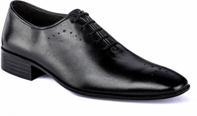 Nudo Formal Black Lace Up Shoes