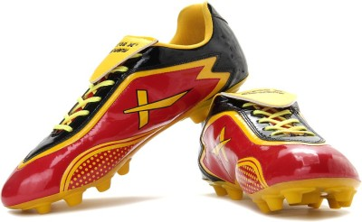 Vector X Germany Football Shoes(Red, Black, Yellow)