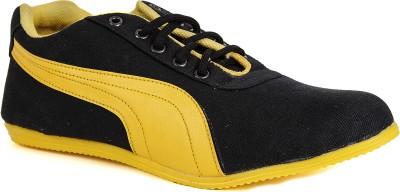 Runner Chief Black-Yellow Sneakers