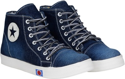 Kraasa Star 21 Boots, Sneakers, Canvas Shoes, Party Wear(Navy)