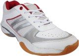 Hitmax Spacer Badminton Shoes (White)