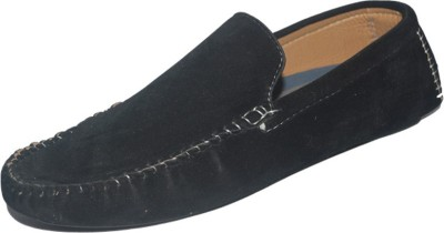 LE 34 LE 34 Mens Basic Black Loafers Loafers