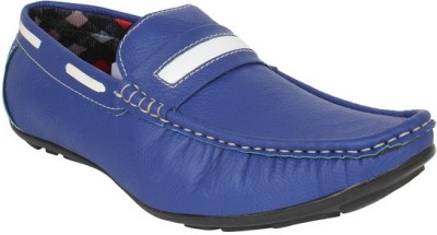 Firemark 202 Blue Loafers