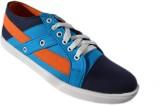 Klinga Men's Navy Canvas Shoes (Navy)