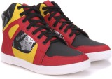 Vulcan Knight Mid Ankle Sneakers (Red)