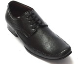 BLK LEATHER Lace Up Shoes (Black)