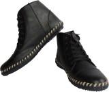 Vayu Black Casual Shoes (Black)